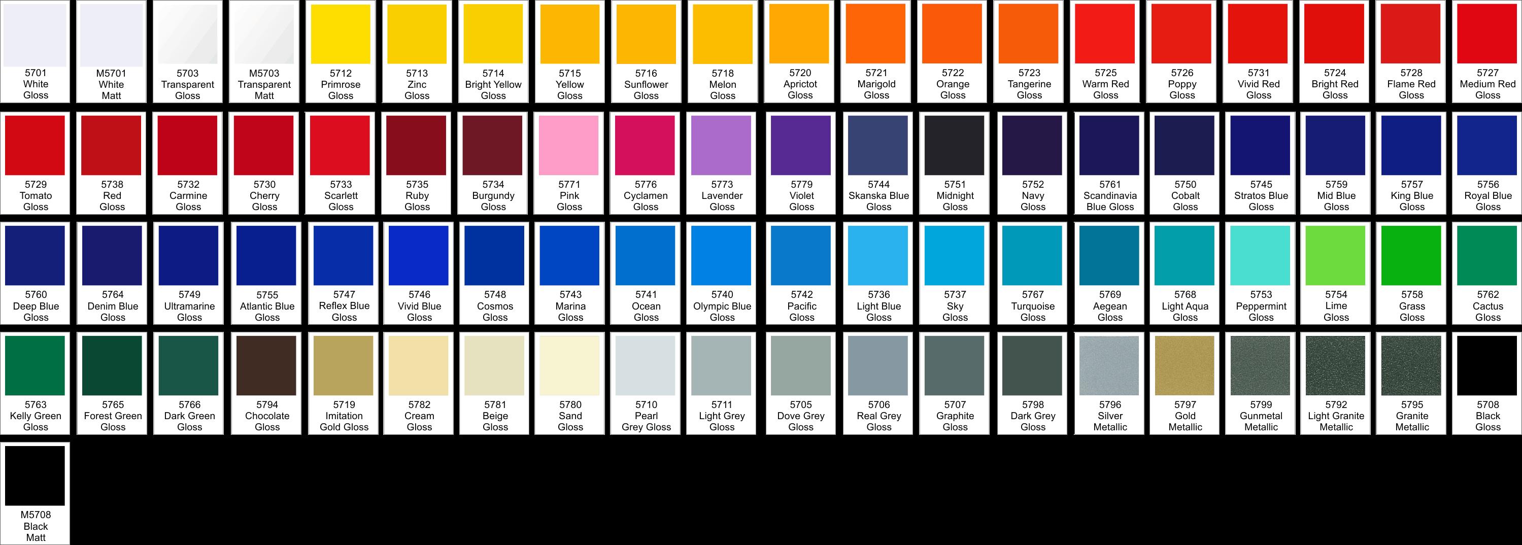 Eissauna farben